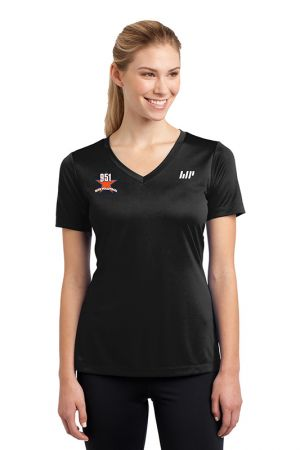 Women's Short Sleeve V-Neck Tech Tee